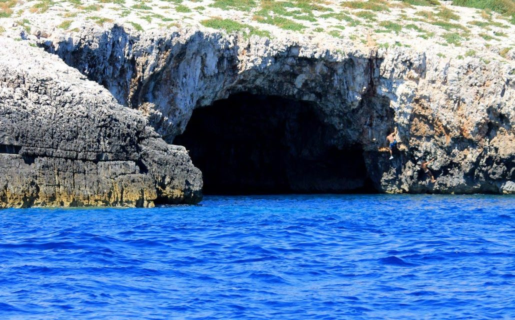 Blue Cave, Adriatic sea, Croatia