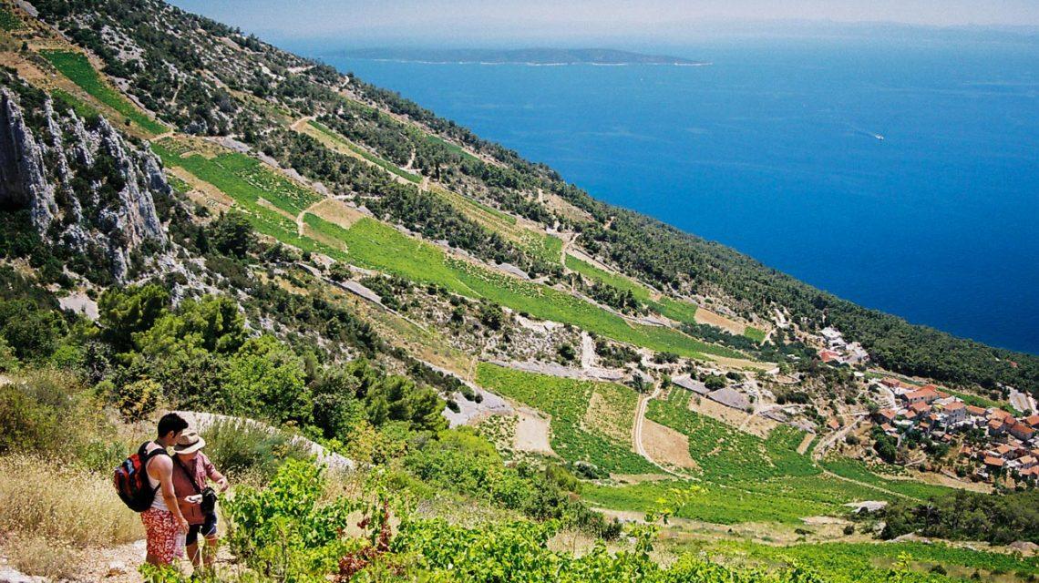 Island of Korcula, Hiking, Adriatic sea, Croatia
