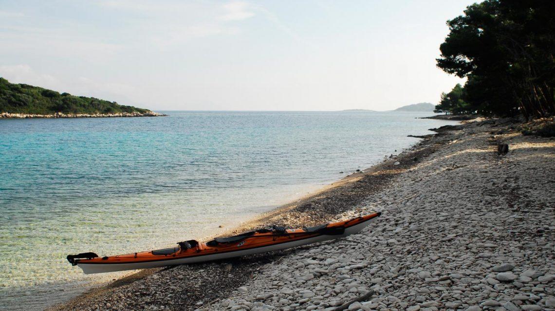 Island of Korcula, Kayaking, Adriatic sea, Croatia