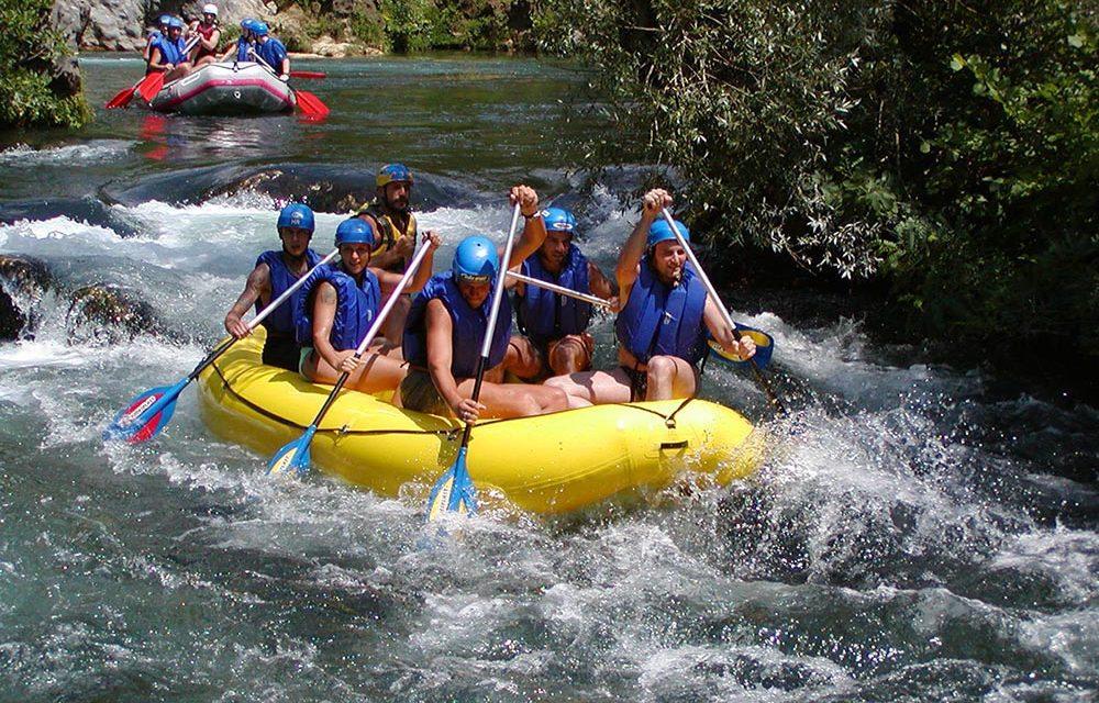 Rafting, River of Cetina, Omis, Croatia